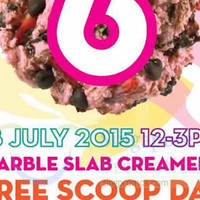 Read more about Marble Slab Creamery FREE Scoop Day @ 4 Locations 18 Jul 2015