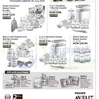 Philips Avent Bundle Offers @ Metro 3 - 30 Jul 2015