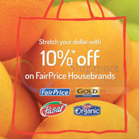 Read more about Fairprice 10% Off House Brands 11 Jul - 31 Dec 2015