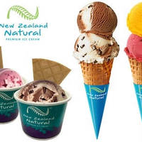 Read more about New Zealand Natural 36% OFF Two Scoops of Ice Cream @ 4 Locations 25 Jul 2015