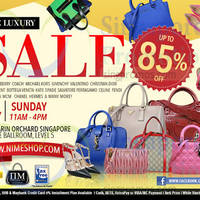 Read more about Nimeshop Branded Handbags Sale @ Mandarin Orchard 19 Jul 2015
