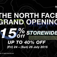 Read more about The North Face Grand Opening @ Paragon 24 - 26 Jul 2015