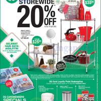 Read more about OG 20% OFF Storewide Promo 16 - 19 Jul 2015