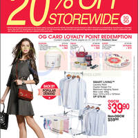 Read more about OG 20% OFF Storewide Promo 23 - 29 Jul 2015