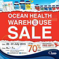Read more about Ocean Health Warehouse SALE 29 - 31 Jul 2015