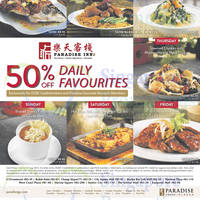 Read more about Paradise Inn 50% Off Daily Favourites For OCBC Cardmembers 3 Jul - 31 Aug 2015