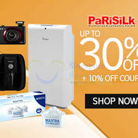 Parisilk 10% OFF (NO Min Spend) Coupon Code 29 Jul - 3 Aug 2015