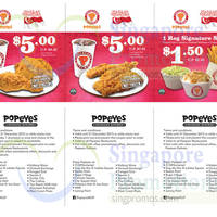 Read more about Popeyes $5 Meals & $1.50 Side Coupons 24 Jul - 31 Dec 2015