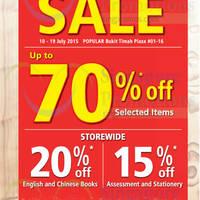 Read more about Popular Bukit Timah Plaza Pre-Renovation Sale 10 - 19 Jul 2015