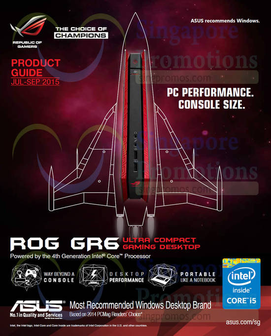 ROG GR6 Gaming Desktop PC