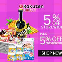 Rakuten Direct 10% OFF 1-Day Shopwide Coupon Code 28 Jul 2015
