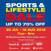 Read more about Royal Sporting House LifeStyle Sale @ Wisma Gulab 30 Jul - 16 Aug 2015