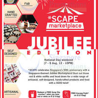 Read more about *SCAPE Marketplace FREE Gong Cha & Kacang Putih Giveaway 7 - 9 Aug 2015