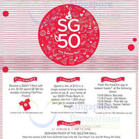 Read more about Seletar Mall SG50 Celebration Offers 31 Jul - 10 Aug 2015