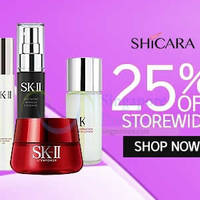 Shicara 25% OFF SK-II Facial Treatment Essence & More (NO Min Spend) Coupon Code 8 - 13 Jul 2015