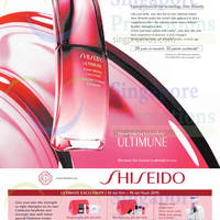 Read more about Shiseido Ultimate Exclusives 11 - 19 Jul 2015