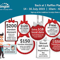 Read more about Singtel CIS Roadshow @ One Raffles Place 14 - 16 Jul 2015