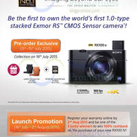 Sony NEW Compact RX100 IV & High-Zoom RX10 II Cameras 2 Jul 2015
