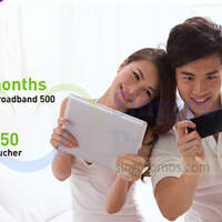 StarHub Dual Broadband Free 3 Months & $50 Shopping Voucher Promo 2 - 5 Jul 2015