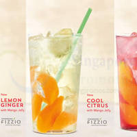 Read more about Starbucks New Fizzio Sparkling Beverages Available From 22 Jul 2015