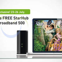Read more about Starhub Free 3 Months $50/mth 500Mbps Dual Broadband Promo 23 - 26 Jul 2015