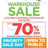 Read more about Stride Rite & Petit Bateau Warehouse Sale 24 - 30 Jul 2015