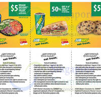 Read more about Subway 50% Off Sub With Purchase of Drink & More Coupons 1 Aug - 31 Oct 2015