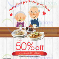 Swensen's 50% Off Daily Promo for Seniors (2:30pm to 5:00pm Weekdays) 6 Jul 2015