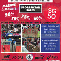 Read more about Taskermania Branded Sportswear Sale 13 - 19 Jul 2015