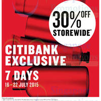 Read more about The Body Shop 30% Off Storewide for Citibank Cardholders 16 - 22 Jul 2015