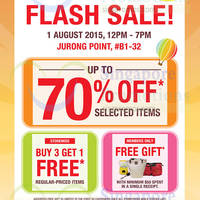 Read more about The Cocoa Trees Flash Sale @ Jurong Point 1 Aug 2015