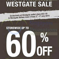 The North Face Sale @ Westgate 3 - 5 Jul 2015
