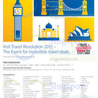 Read more about Travel Revolution 2015 (July 2015) @ Marina Bay Sands 24 - 26 Jul 2015