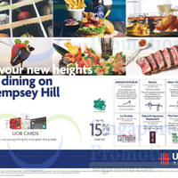UOB Dempsey Hill Dining Offers 1 Jul 2015
