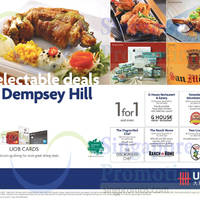 Read more about Dempsey Hill 1 for 1 & More Offers For UOB Cardmembers 3 Jul 2015
