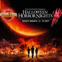 USS Halloween Horror Nights (Weekends) 2 - 31 Oct 2015