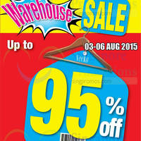 Veeko & Wanko Warehouse SALE 3 - 6 Aug 2015