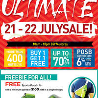 Read more about Watsons Ultimate Two-Days Sale @ 74 Stores 21 - 22 Jul 2015