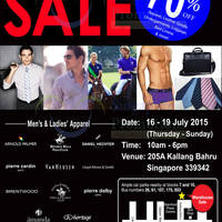 Read more about YG Marketing International Brands Warehouse Sale 16 - 19 Jul 2015