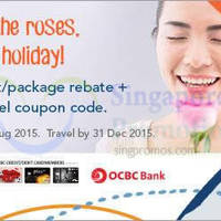 Zuji Singapore 12% OFF Hotels Coupon Code (NO Min Spend) For OCBC Cardmembers 6 Jul - 2 Aug 2015