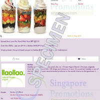 Read more about llaollao $4 Sanum Froyo Deal @ 313 Somerset 27 Jul - 31 Aug 2015