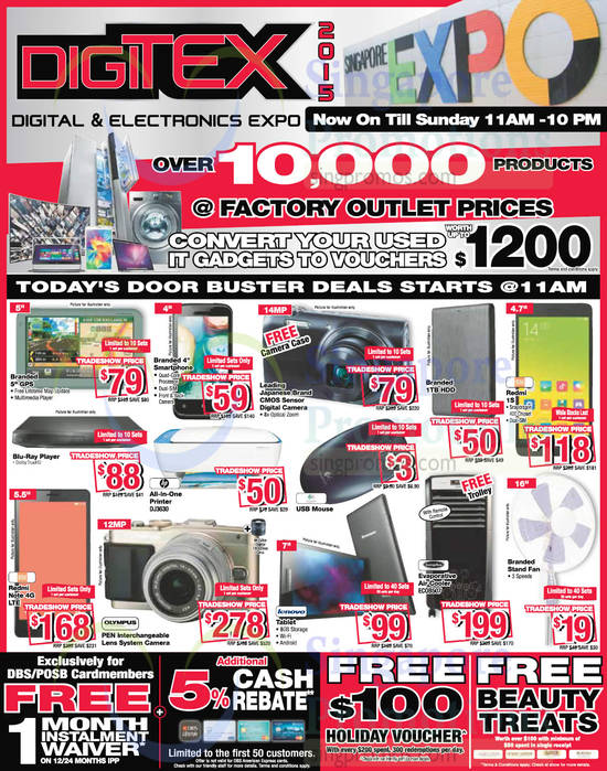 15 Aug Door Buster Deals