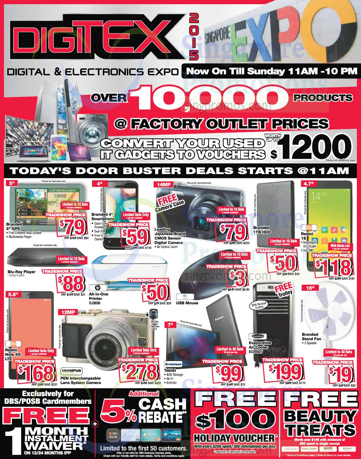 15 Aug Door Buster Deals