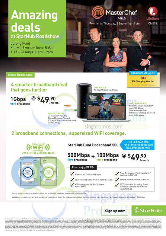 1Gbps Broadband, Dual Broadband 500