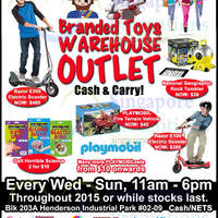 Read more about Action Toyz Branded Toys Warehouse Outlet 27 Aug - 13 Sep 2015
