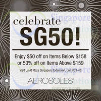 Read more about Aerosoles $50 Off & 50% Off Offers 7 Aug 2015