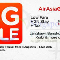 Read more about Air Asia Go fr $99 Flights + 2 Nights + Taxes Big Sale 10 - 16 Aug 2015