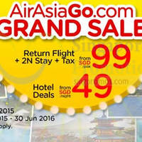 Read more about Air Asia Go fr $99 Return Flight, 2N Stay & Taxes Promo Packages 17 - 23 Aug 2015