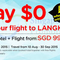 Air Asia Go $99/pax Langkawi w/ Hotel & Flight 3 - 9 Aug 2015