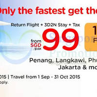 Read more about Air Asia Go fr $99 3D2N Stay + Flights + Taxes Promo 31 Aug - 6 Sep 2015